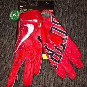Nike x Supreme vapor jet 4 Football Gloves